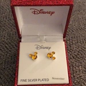 Disney Birthstone Earrings